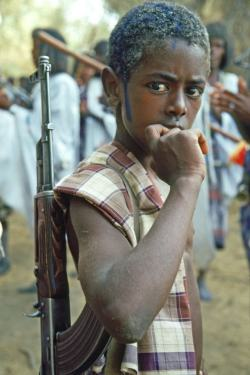 Photo: web, Sudan Child Soldier-all rights reserved