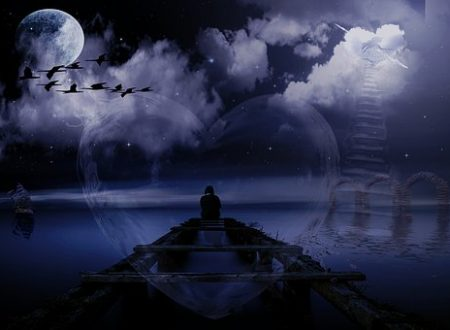 È nella solitudine che il mare agitato delle emozioni diventa uragano.[Yelena b.]