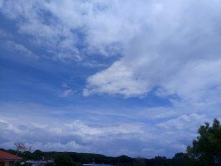 Oggi il cielo