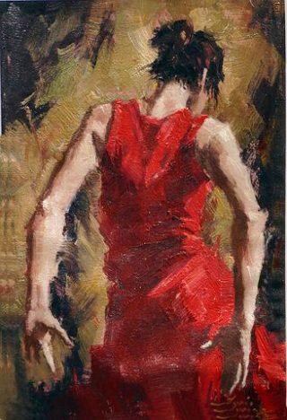 Quella nel vestito rosso